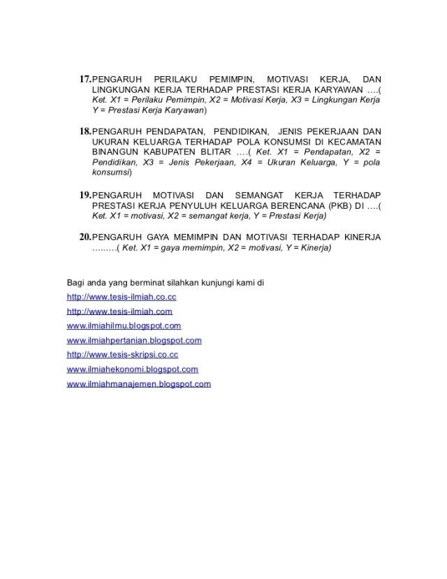 Contoh Lengkap Proposal Metode Penelitian Kualitatif Lalod