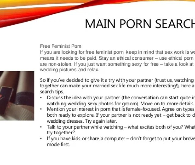 3 Main Porn Search Tips Free Feminist