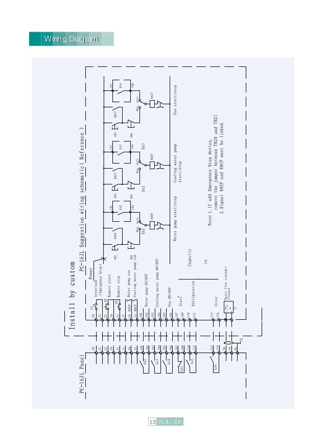 Carrier 30gx Chiller Wiring Diagram : 35 Wiring Diagram