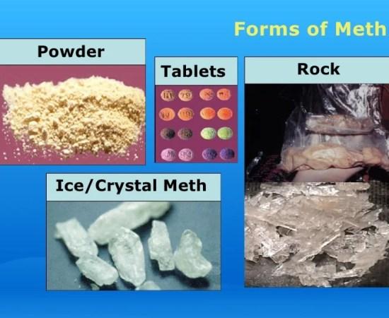 Forms Of Meth - Image Copyright SlideShareCdn.Com