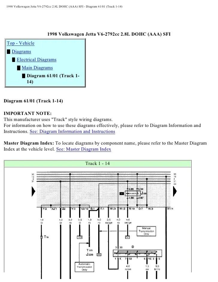 1998 Vw Jetta Gti Wiring Diagram