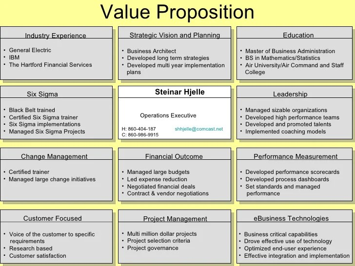 employee value proposition examples http www slideshare net