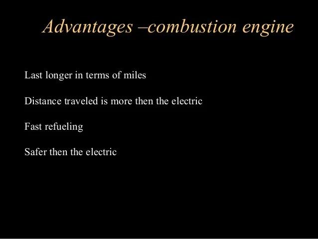 Image result for disadvantages of combustion engine