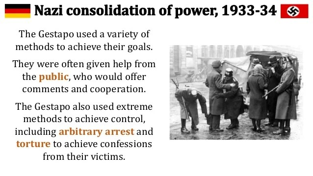 nazi consolidation of power in 1933