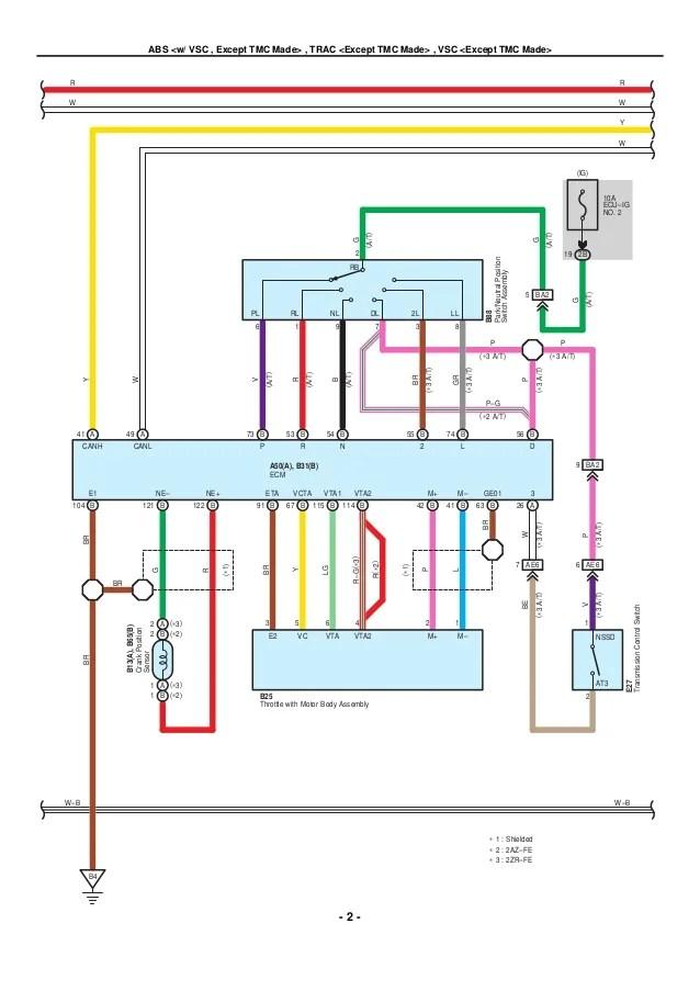 2009 2010 toyota corolla electrical