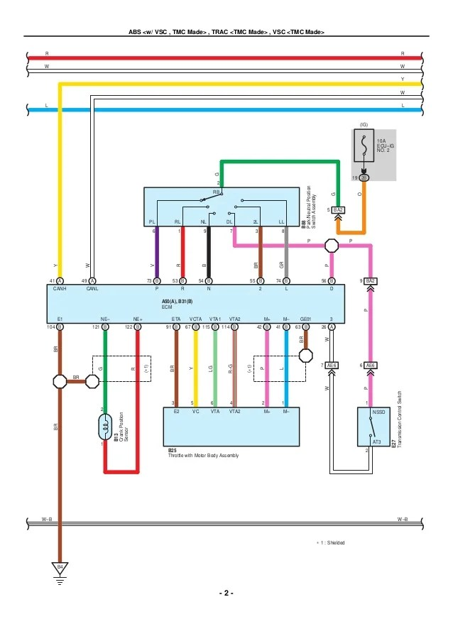 2009 2010 toyota corolla electrical wiring diagrams