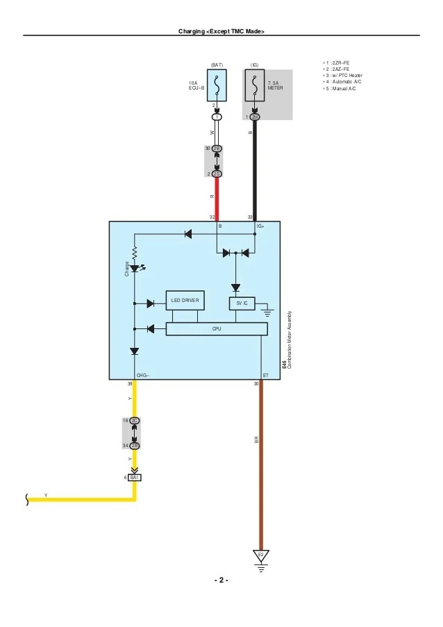 2009 2010 toyota corolla electrical wiring diagrams
