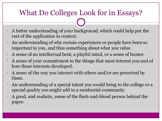 The new common application essay prompts