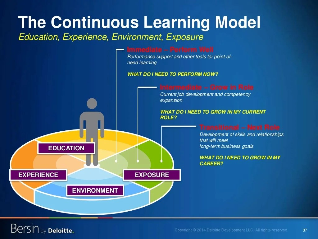 37 The Continuous Learning Model