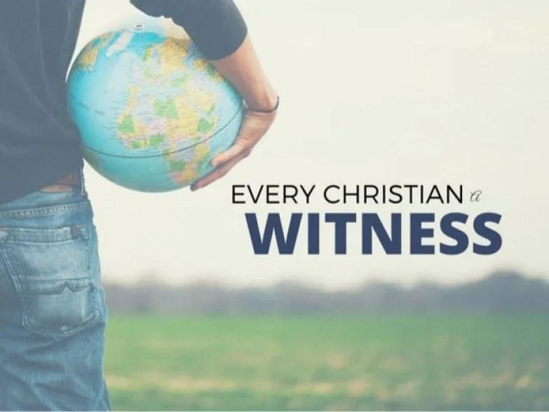 Hasil gambar untuk be a witness