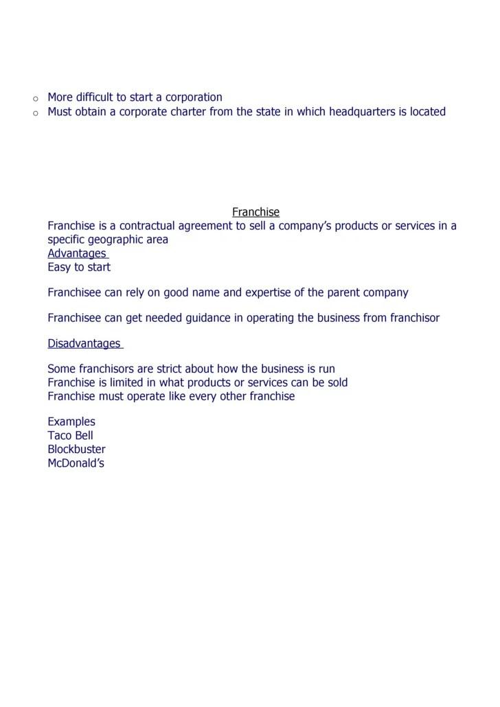 Sole Proprietor Agreement Operating