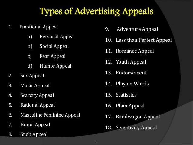 Rational Appeal Advertising