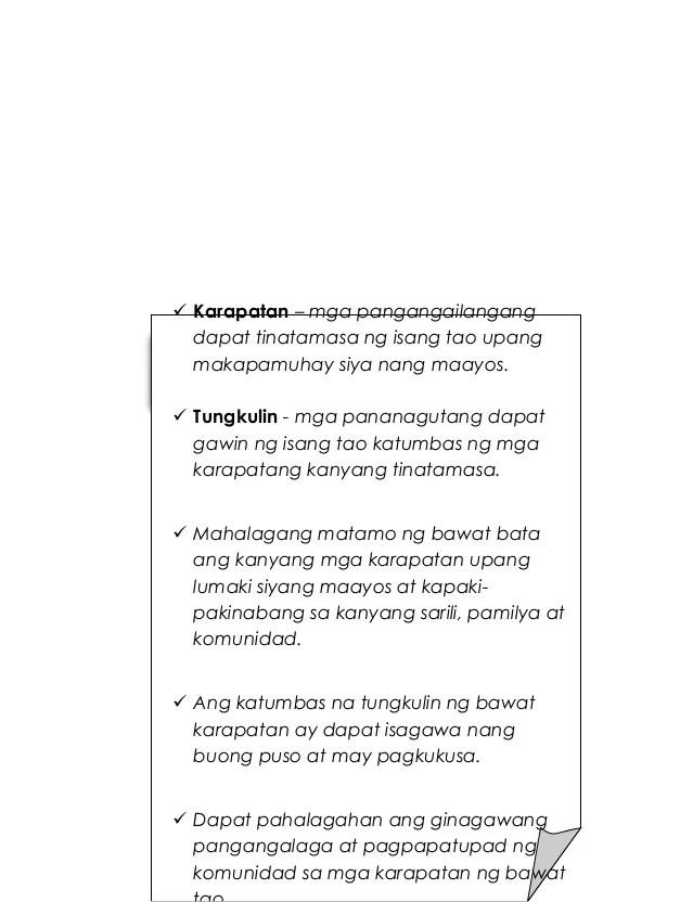 Mga Karapatan Ng Bata - Modern Home Revolution