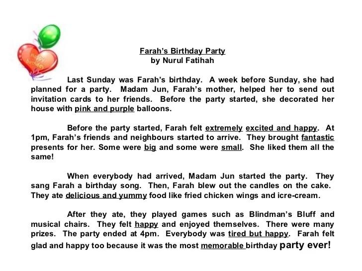 Essay On My Birthday Celebration Essay for you