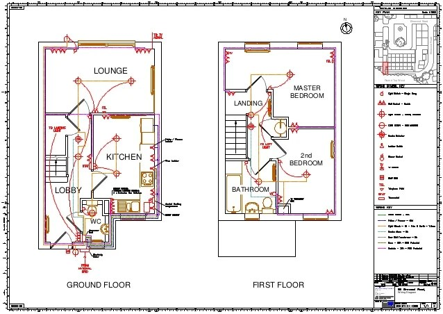 House Wiring Diagram