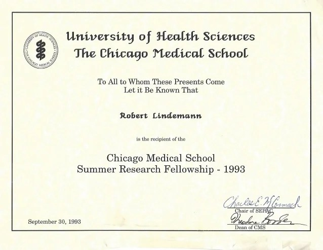 Surgery Critical Care Research Certificate The Chicago