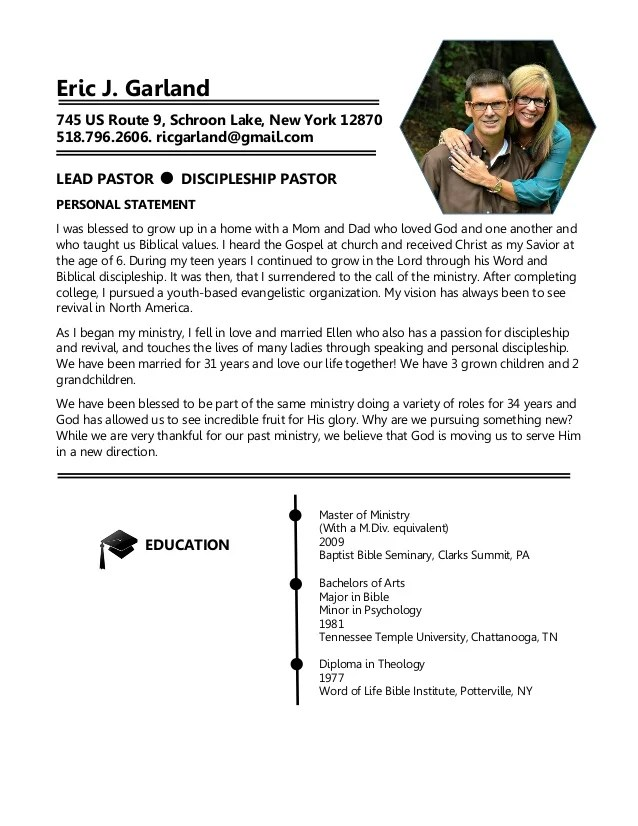 resume cover letter resume cover letter samples 01 pastor resume