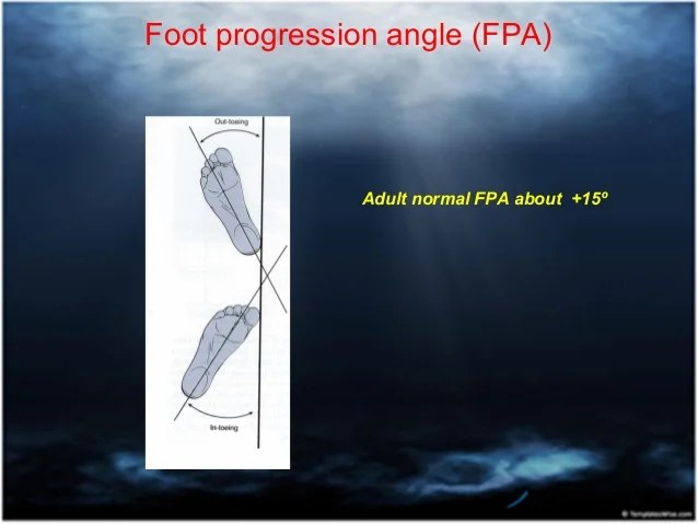 Angle Foot Thigh Normal