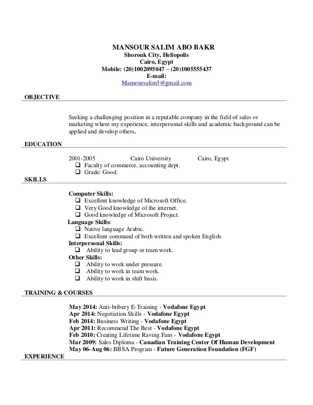 Updated Resume Samples. Updated Resume Format 2014 Resume 2014
