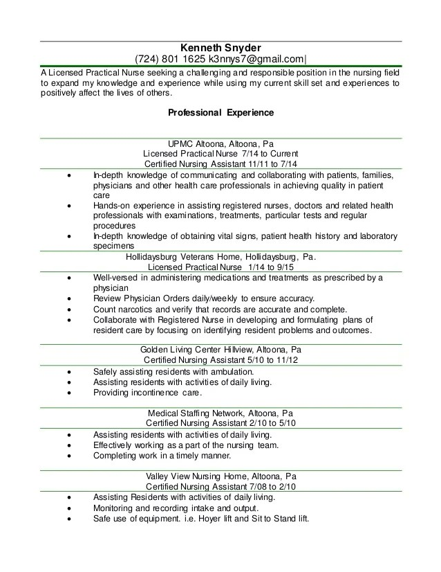 Resume Lpn. 1000 ideas about lpn to rn programs on pinterest lpn to ...