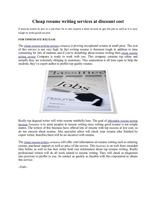cheap resume writers - Black.dgfitness.co