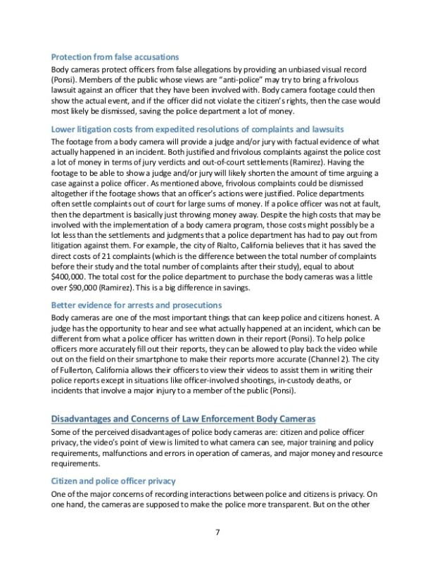 Police Brutality Argumentative Essay Outline | Letterssite.com