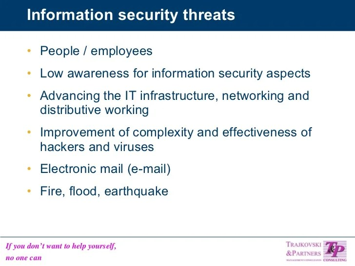 Information Security Threats