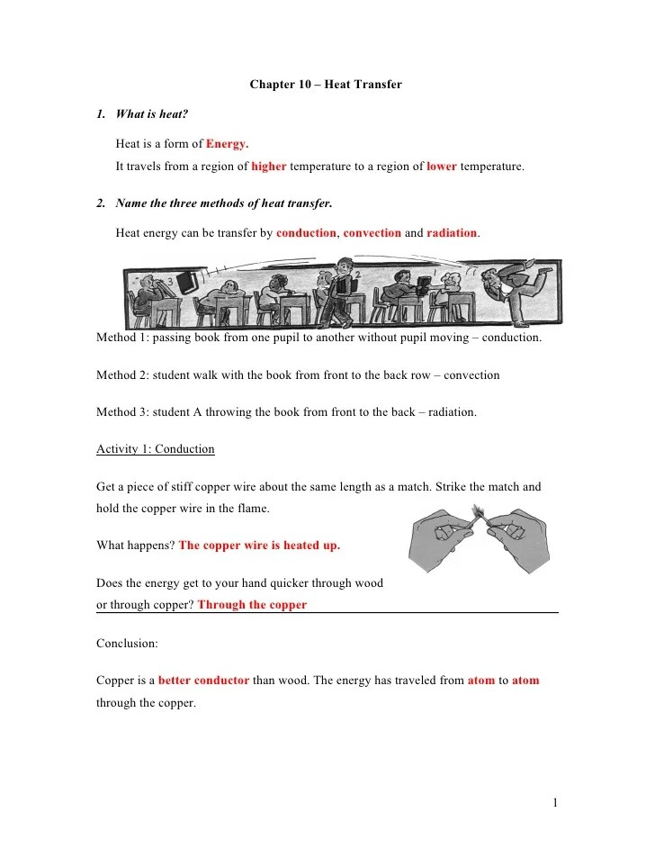 3 Nt Chapter 8 Heat Transfer Classnotes Answer