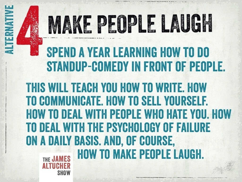 Something Make Someone Laugh