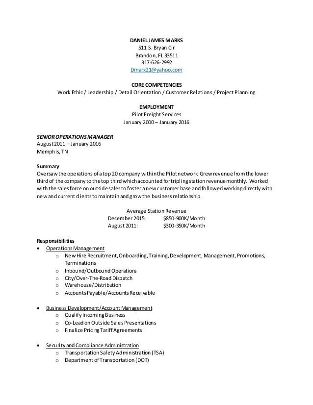 daniel marks resume