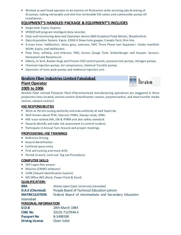 Ptw coordinator resume