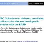 Nueva guía sobre diabetes, pre diabetes y enfermedades cardiovasculares