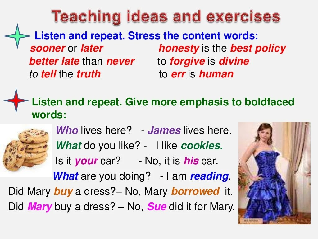 5 Sentence Stress