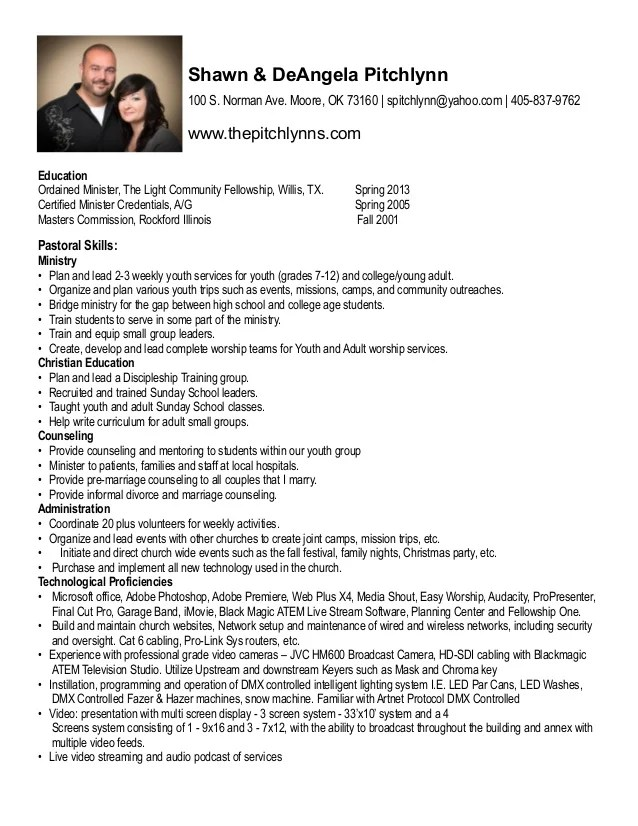youth minister resume template bestsellerbookdb