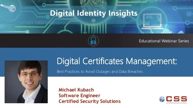 Digital Certificate Management Best Practices To Avoid