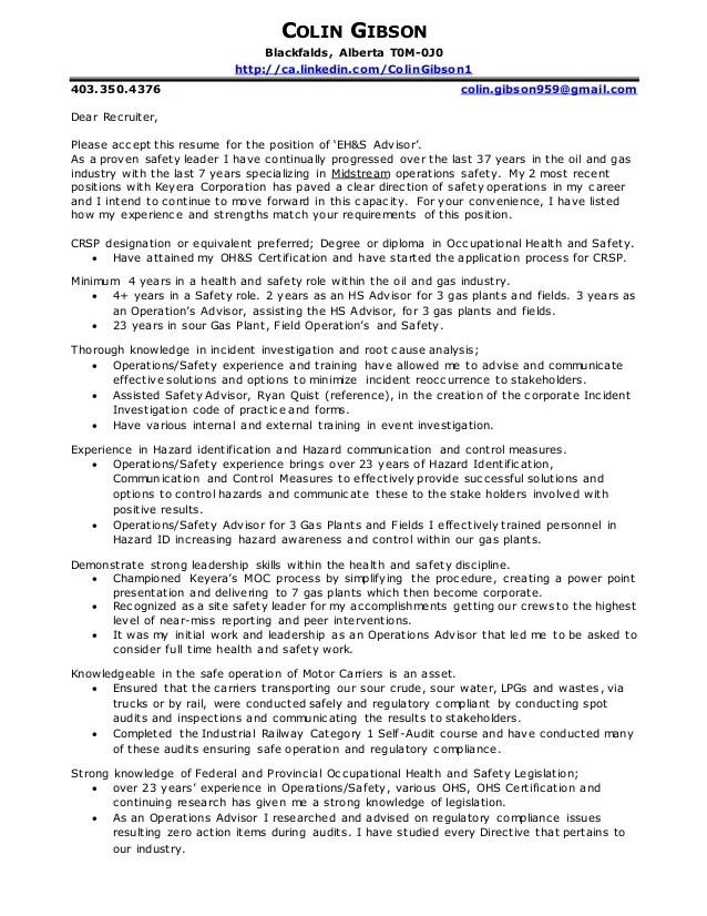 gibson colin cover letter amp resume 2016b