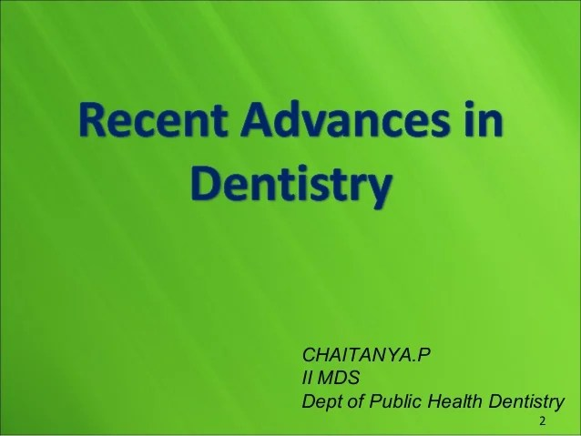 p ii mds dept of public health dentistry