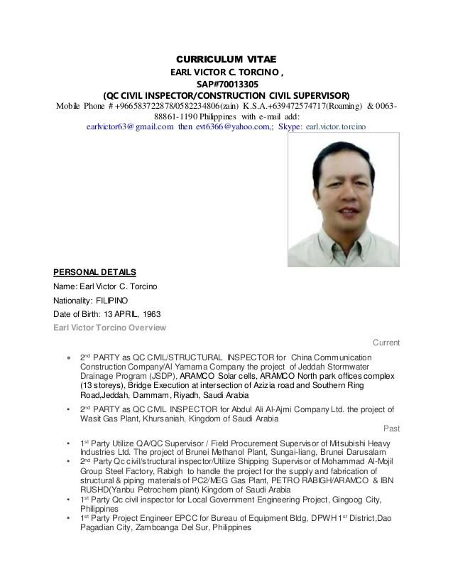 road construction inspector resume civil engineering cv template