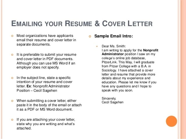 sending resume email sample should cover letter email attachment tips write cover letter for environmental geologist - Geologist Cover Letter