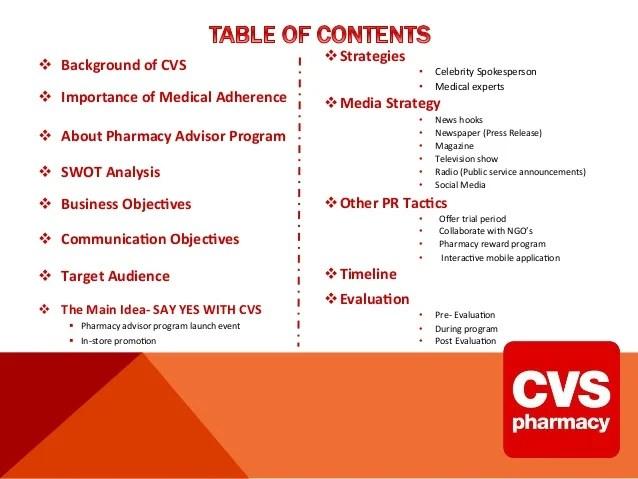 CVS Media Relations Campaign