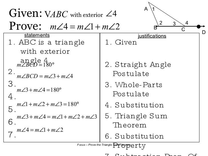 8 2 Triangle Sum Theorem