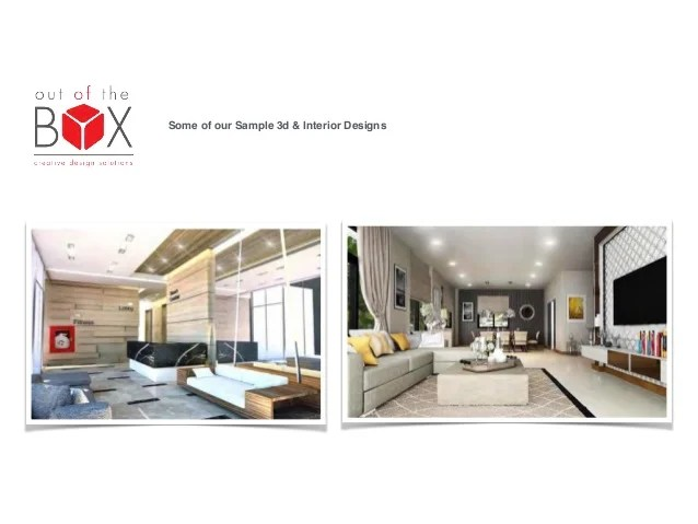 interior design company profile sample template