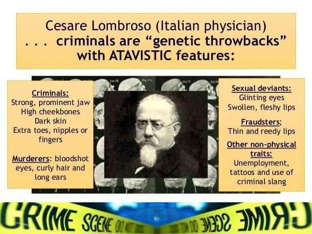 cesare lombroso born criminal