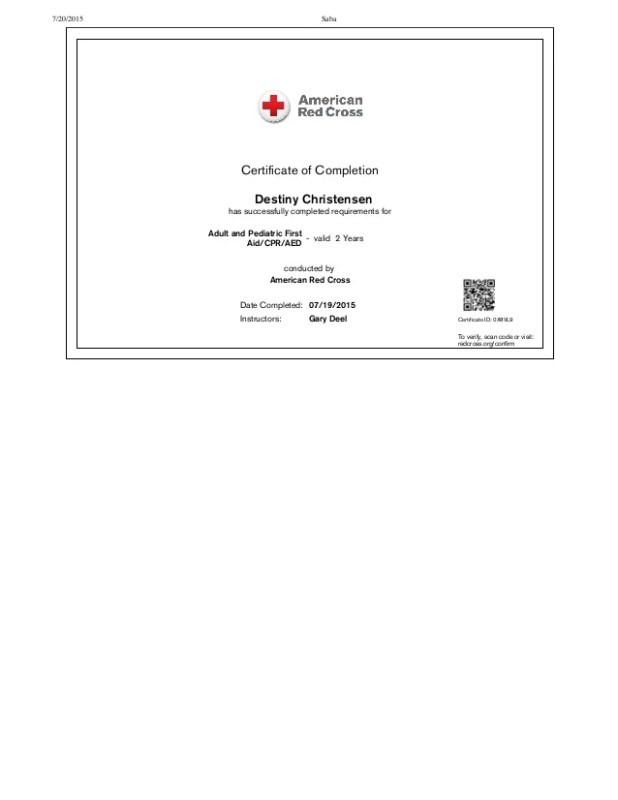 Lost My American Red Cross Cpr Card Howtoviews
