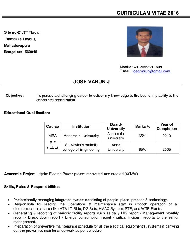 Facility Manager Resume  facilities manager resume sample