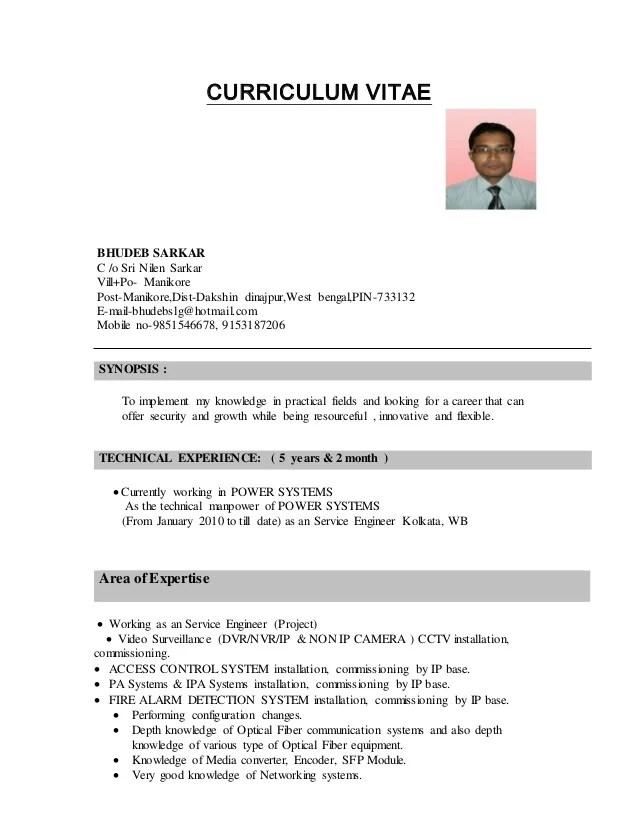 Updated Curriculum Vitae Sample. Curriculum Vitae Doc Descargarcv