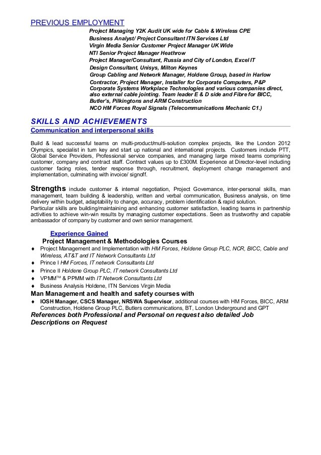 objective resume and cable on pinterest cable installer cover letter