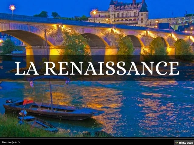 la renaissance francaise