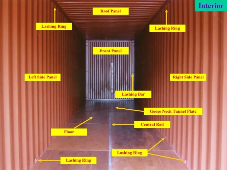 24 Shipping Container Open Side