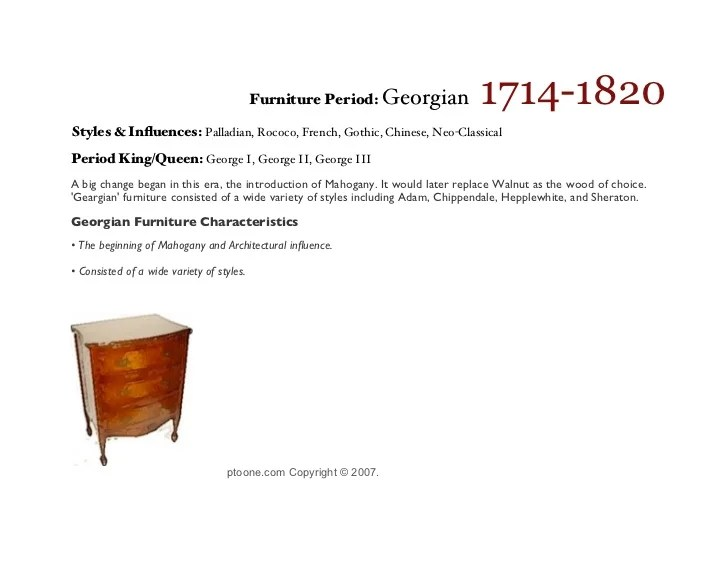 Queen Anne Design Furniture